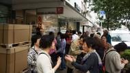 Chinesische Touristen machen sich rar