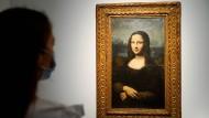 Die sogenannte Hekking-Mona-Lisa bei einer Auktion in Paris