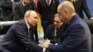 Ohne uns gibt es keinen Frieden in Libyen: Wladimir Putin (l.) und Recep Tayyip Erdogan in Berlin