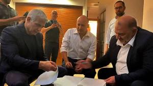 Israel vor dem Machtwechsel