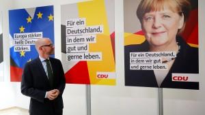 Merkels Überschriften