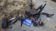 Russische Post-Drohne kommt nicht weit
