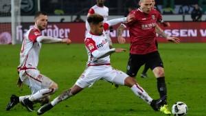 Hannover bezwingt die Roten Teufel knapp