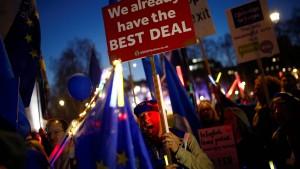 Einigung mit britischer Regierung bis zum 12. März möglich