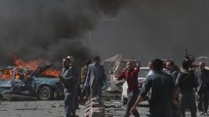 Anschlag zielte auf Deutsche Botschaft in Kabul