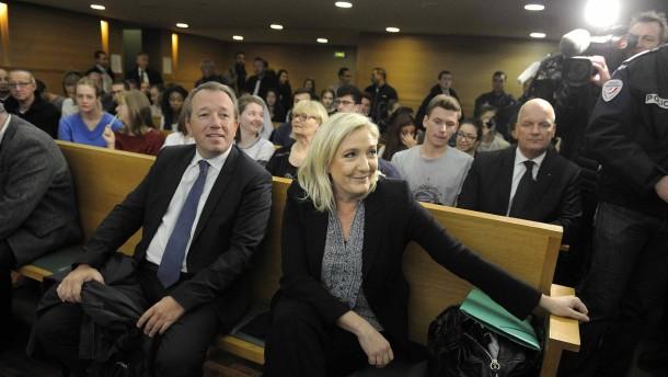 Staatsanwalt beantragt Freispruch für Le Pen