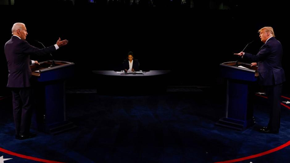 Die letzte TV-Debatte mit Donald Trump und Joe Biden