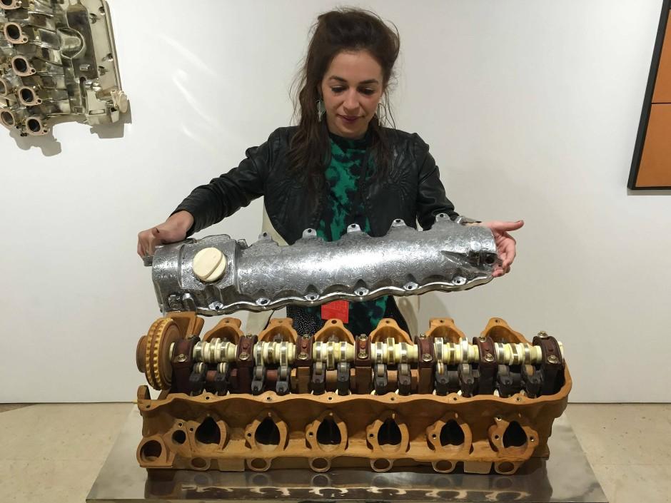 Motoren zu Kunst, Kunst zu Motorrädern: In Marrakesch wird der Begriff der Angewandten Kunst neu definiert