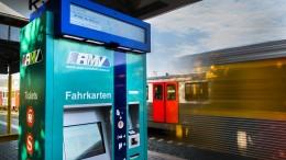 Fahrkartenautomaten streiken reihenweise