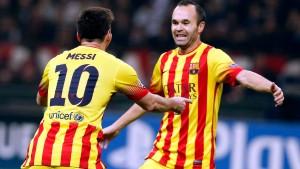 Messi rettet Barcelona