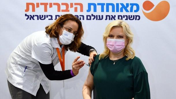 Studie zeigt erste Erfolge bei Israels Impfkampagne