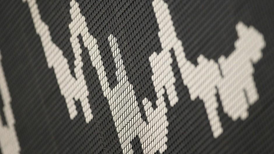 Kurstafel im Börsensaal
