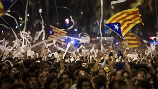 Schwere Ausschreitungen in Barcelona