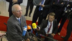 Schäuble zeigt sich ganz versöhnlich