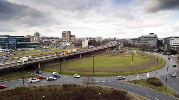 Offenbach am kaiserleikreisel drohen noch mehr staus for Depot offenbach