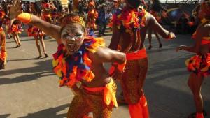 Goldstaub für halb Barranquilla