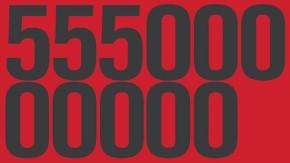 Was man mit 55,5 Milliarden machen kann