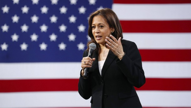 Harris beendet Kandidatur um Präsidentschaft
