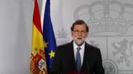 Rajoy übernimmt
