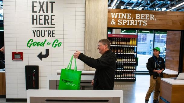 Amazon knöpft sich die Supermärkte vor