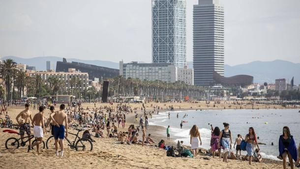 Spaniens Rückkehr an die Strände
