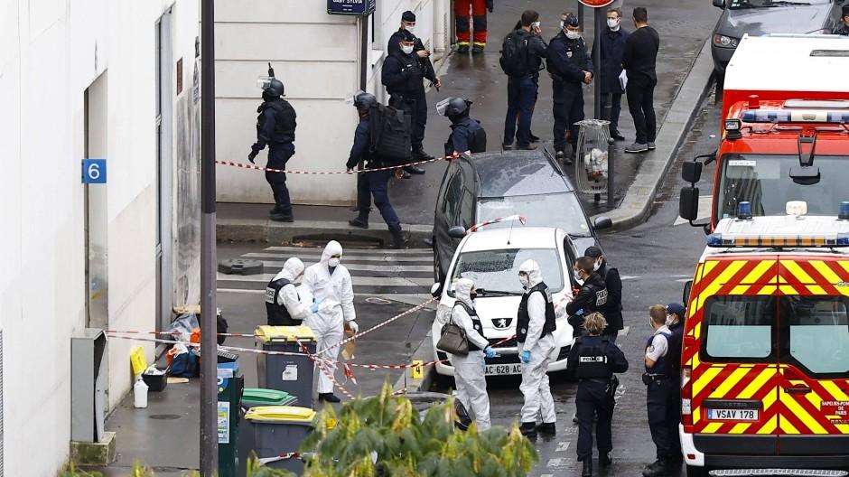 Vier Verletzte nach Messer-Attacke in Paris
