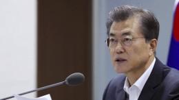Was sagt Moon Jae-in über den Konflikt mit Nordkorea?