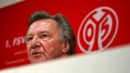 Unter Druck: Mainz-05-Präsident Harald Strutz