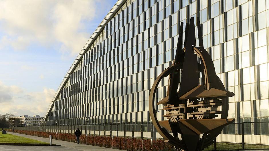 Hier soll der schwedische Offizier gewirkt haben: Nato-Hauptquartier in Brüssel