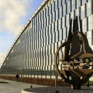 """Hier soll der schwedische """"Offizier"""" gewirkt haben: Nato-Hauptquartier in Brüssel"""