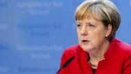 Merkel deutet EU-Sanktionen gegen Russland an