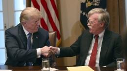 Trump nennt fünf Namen als mögliche Bolton-Nachfolger