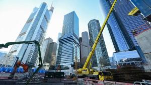 Rege Bautätigkeit in Frankfurt trotz Corona