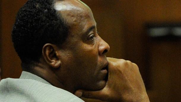 Jackson-Leibarzt Murray drohen vier Jahre Haft