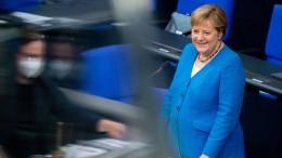 Angela Merkels letzte Befragung