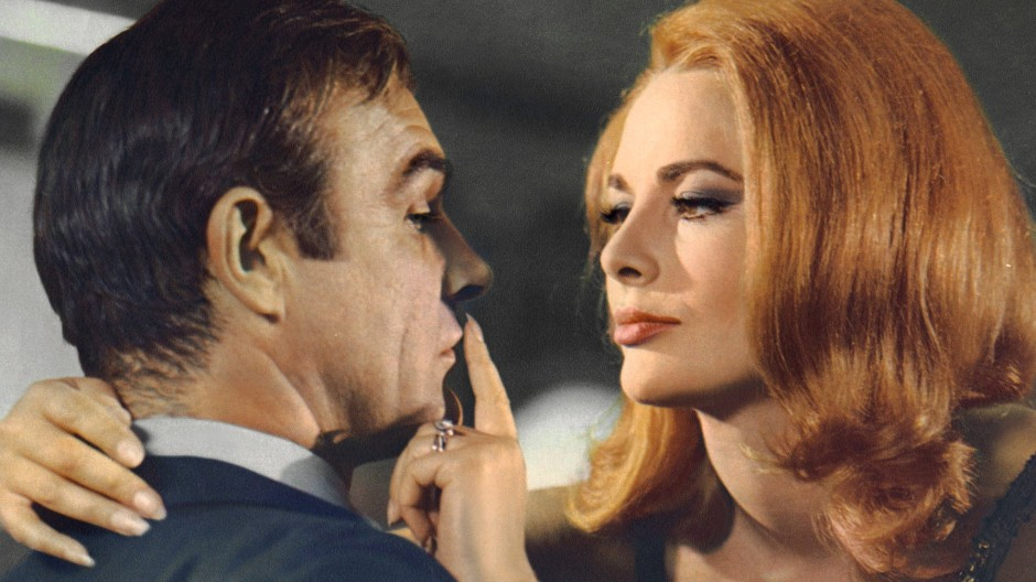 Als einzige Deutsche schaffte es Karin Dor 1967 als Bond-Girl an die Seite des berühmten britischen Agenten.