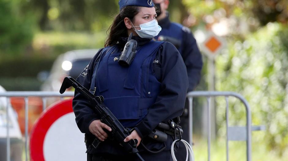 Polizeiabsperrung in Kempen am vergangenen Donnerstag