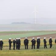 Auf weiter Flur: Der Großeinsatz rund um den Dannenröder Forst ist nicht der einzige, der die hessische Polizei derzeit stark in Anspruch nimmt.