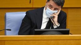 Italienische Regierung zerbrochen