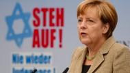 Merkel verurteilt Angriffe auf Juden in Deutschland
