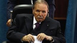 Bouteflika zur Machtabgabe bereit