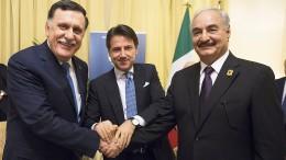 Italien bringt libysche Rivalen zusammen