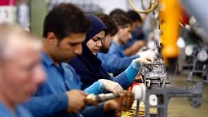 Iran-Geschäft der Deutschen bricht ein