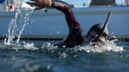 Extremsportler will durch Pazifik schwimmen