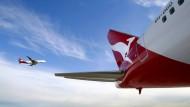 Qantas im Steigflug