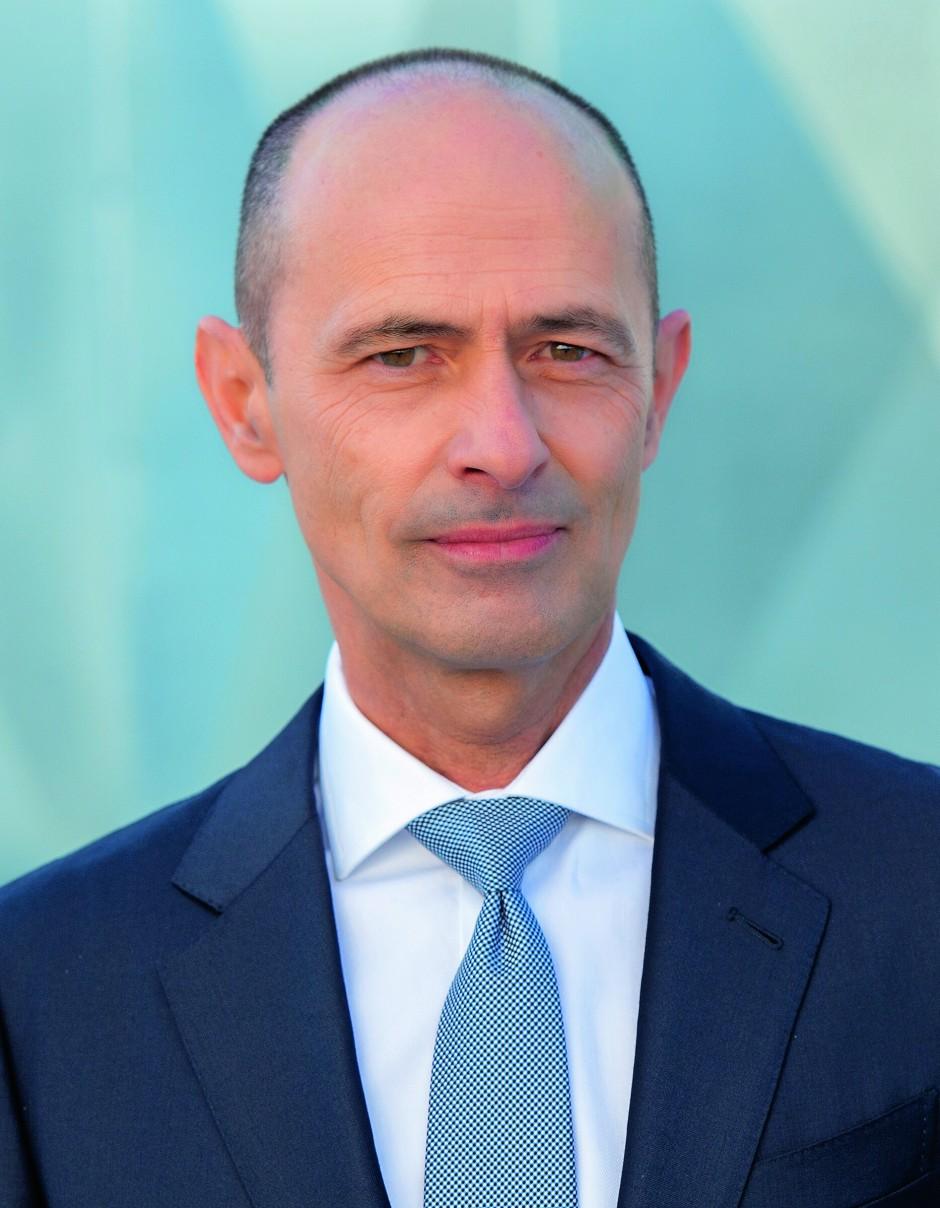 Der Vorstandsvorsitzende von Vossloh, Oliver Schuster
