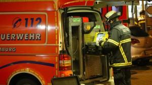 Drei Verletzte bei Feuer in Wiesbadener Wohnhaus