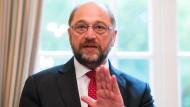 Europaparlamentspräsident Martin Schulz (SPD)