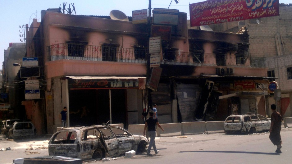 Jarmuk am 21. Juli: Auch in dem Palästinenser-Lager wird gekämpft.