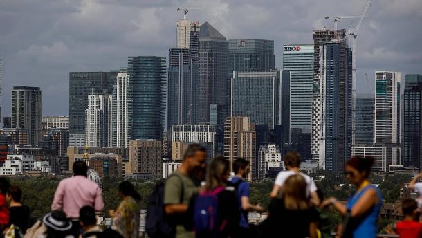Der Finanzplatz London bleibt erstaunlich lebendig
